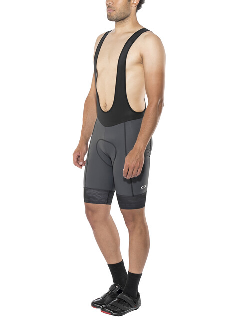 Oakley Jawbreaker Bib Shorts Men Forged Iron